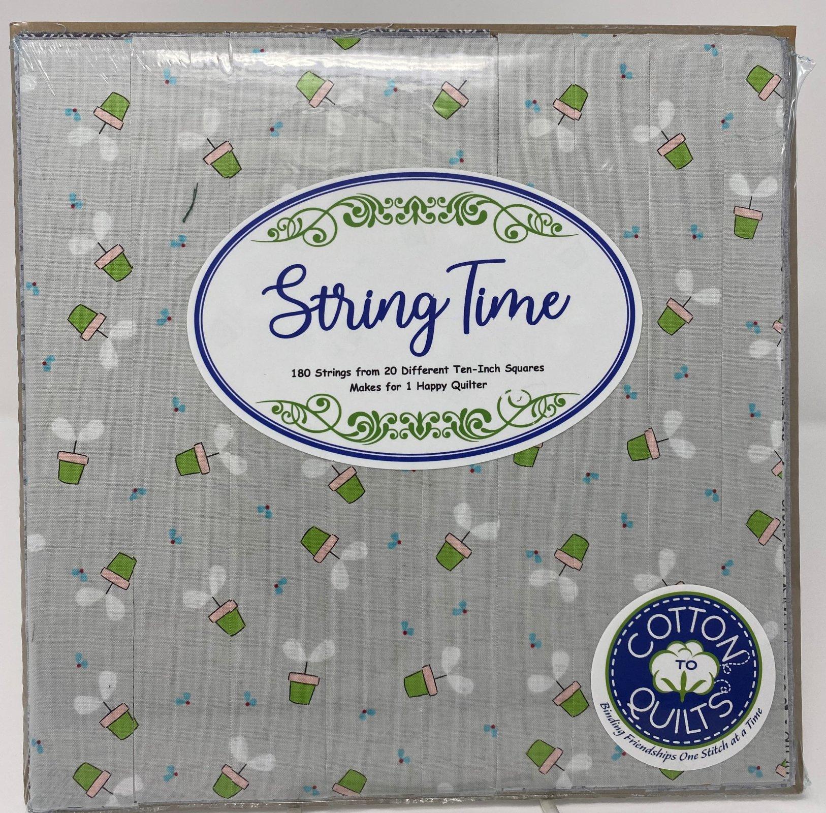 String Time Gray