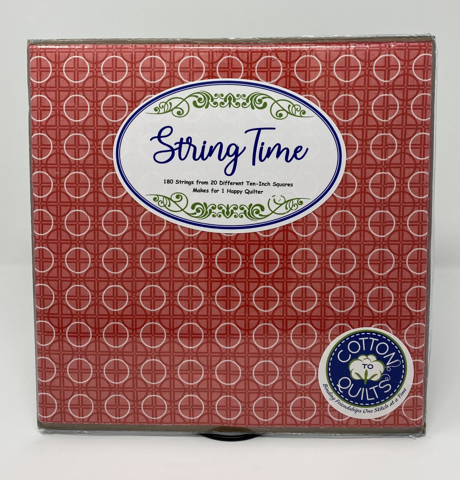 String Time Red