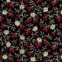 Wisdom Tiny Floral Red/BLK