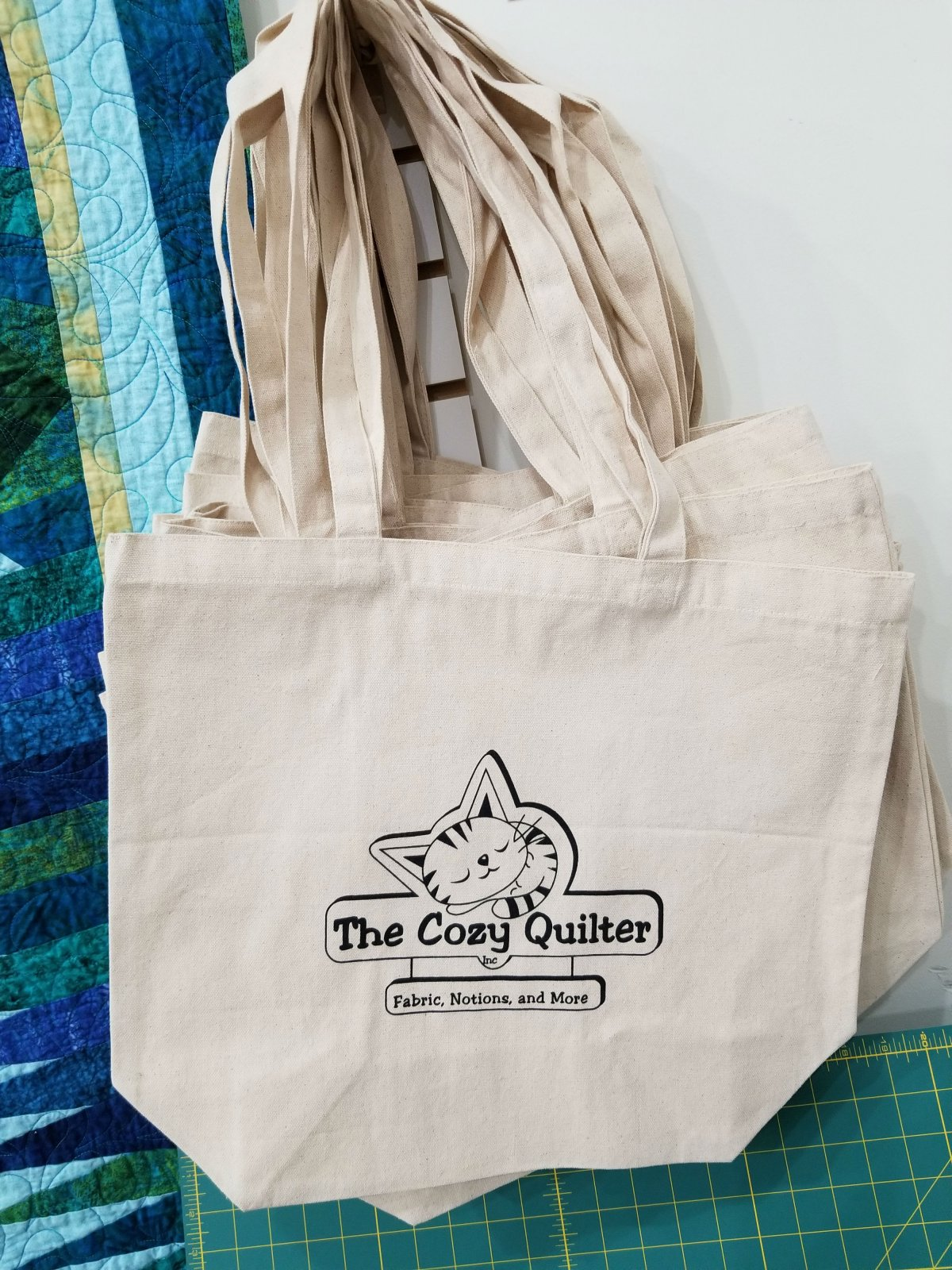 Cozy Quilter Tote