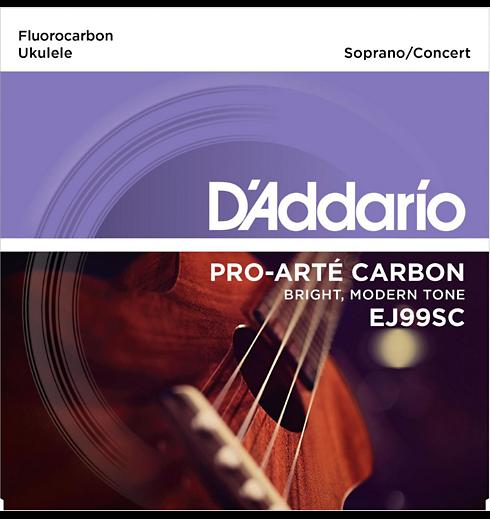 D'Aaddario Pro-Arte Carbon EJ99SC Concert Ukelele Strings