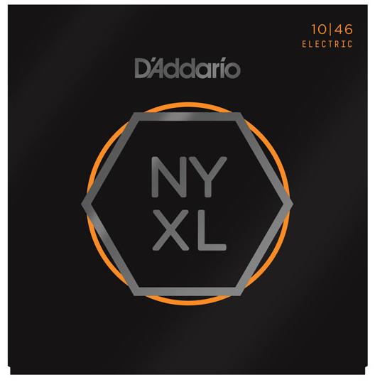 D'Addario NYXL1046 Nickel Wound, Regular Light, 10-46
