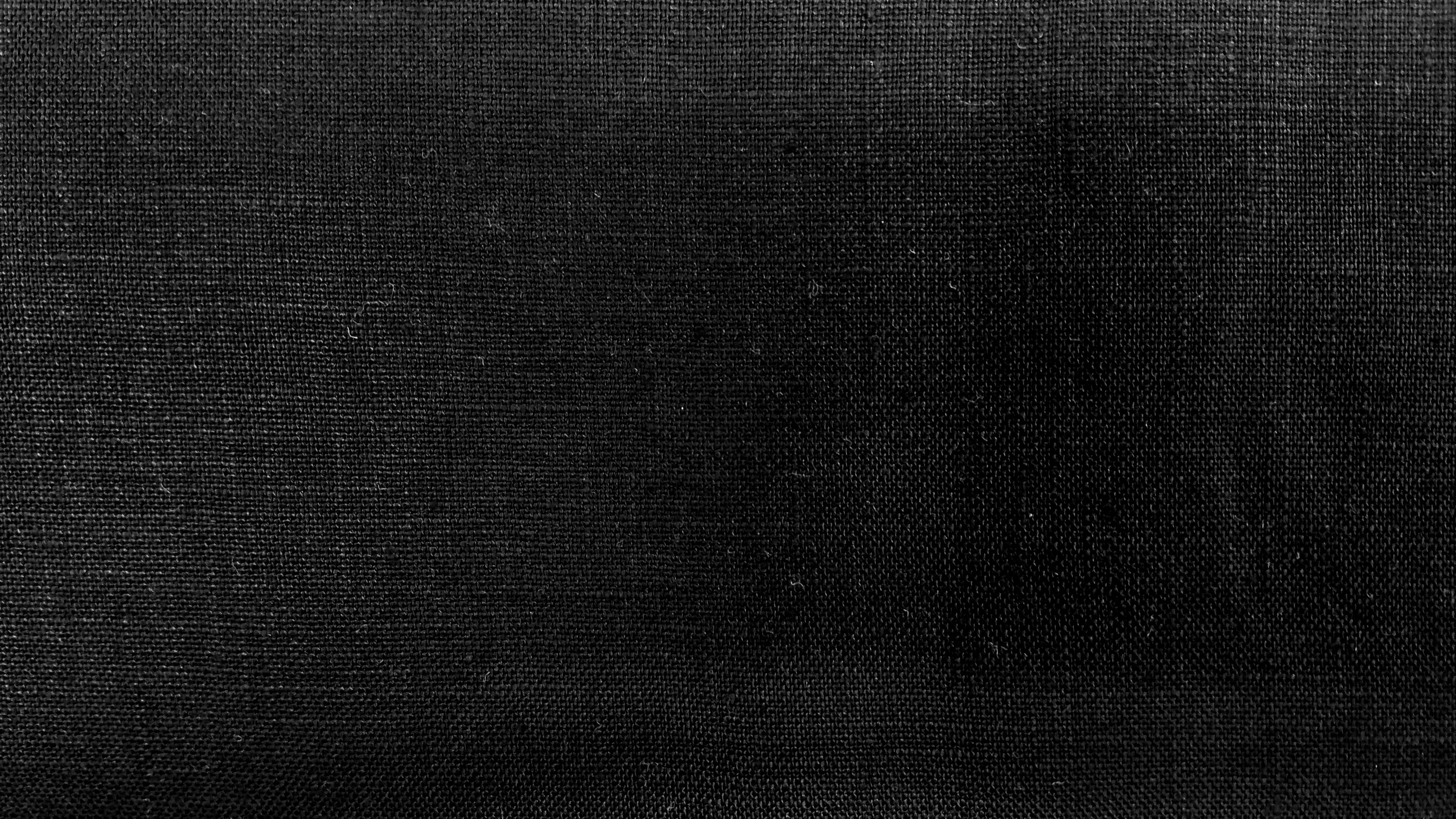 100% Irish Linen Black Medium
