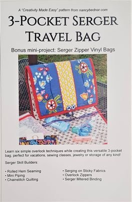 3-Pocket Serger Travel Bag