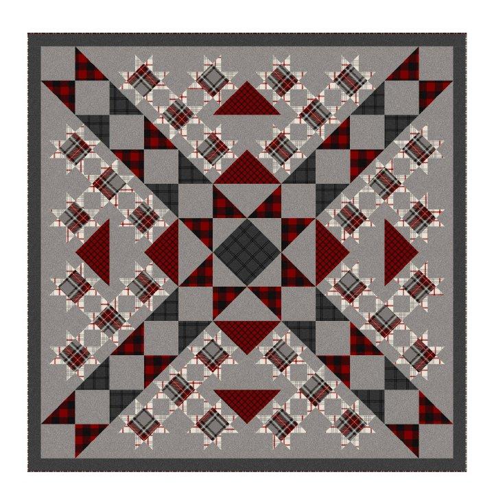 Buffalo Stars quilt pattern