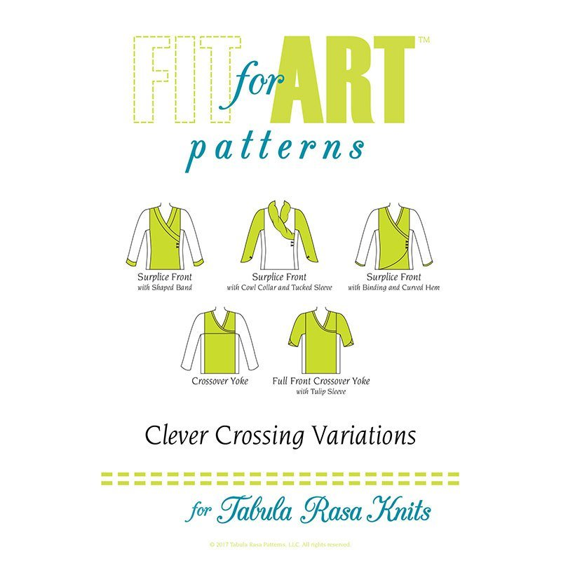 Fit For Art Clever Crossings for TR Knits