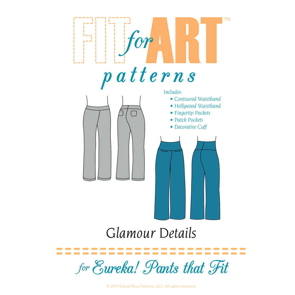 Fit For Art Glamour Details for Eureka Pants