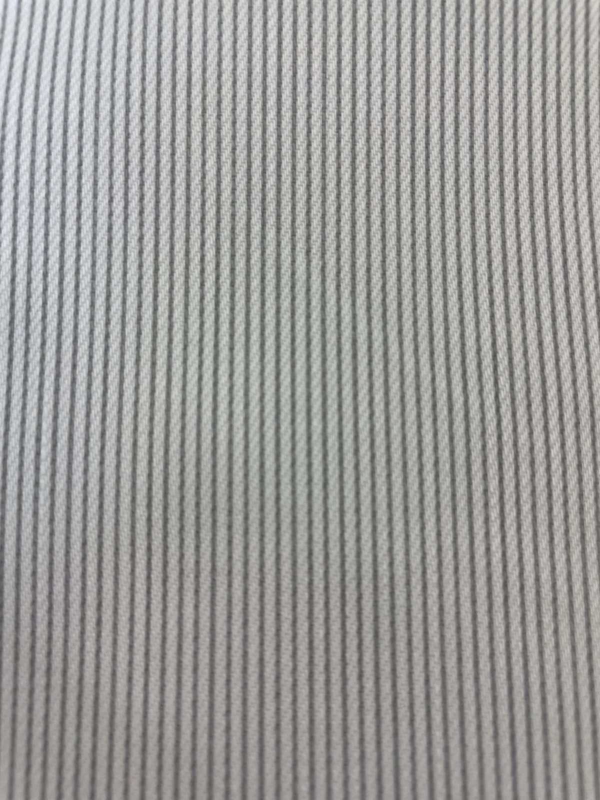 Pin Stripes gray and white cotton with spandex
