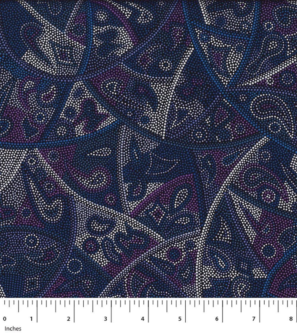 M&S Textiles Looking Around Blue