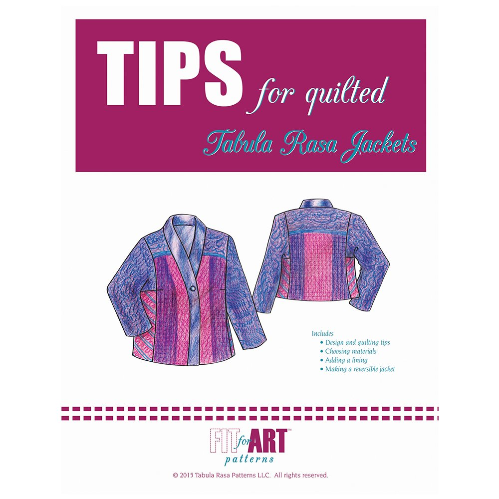 Fit For Art Tips for Quilted TRJ