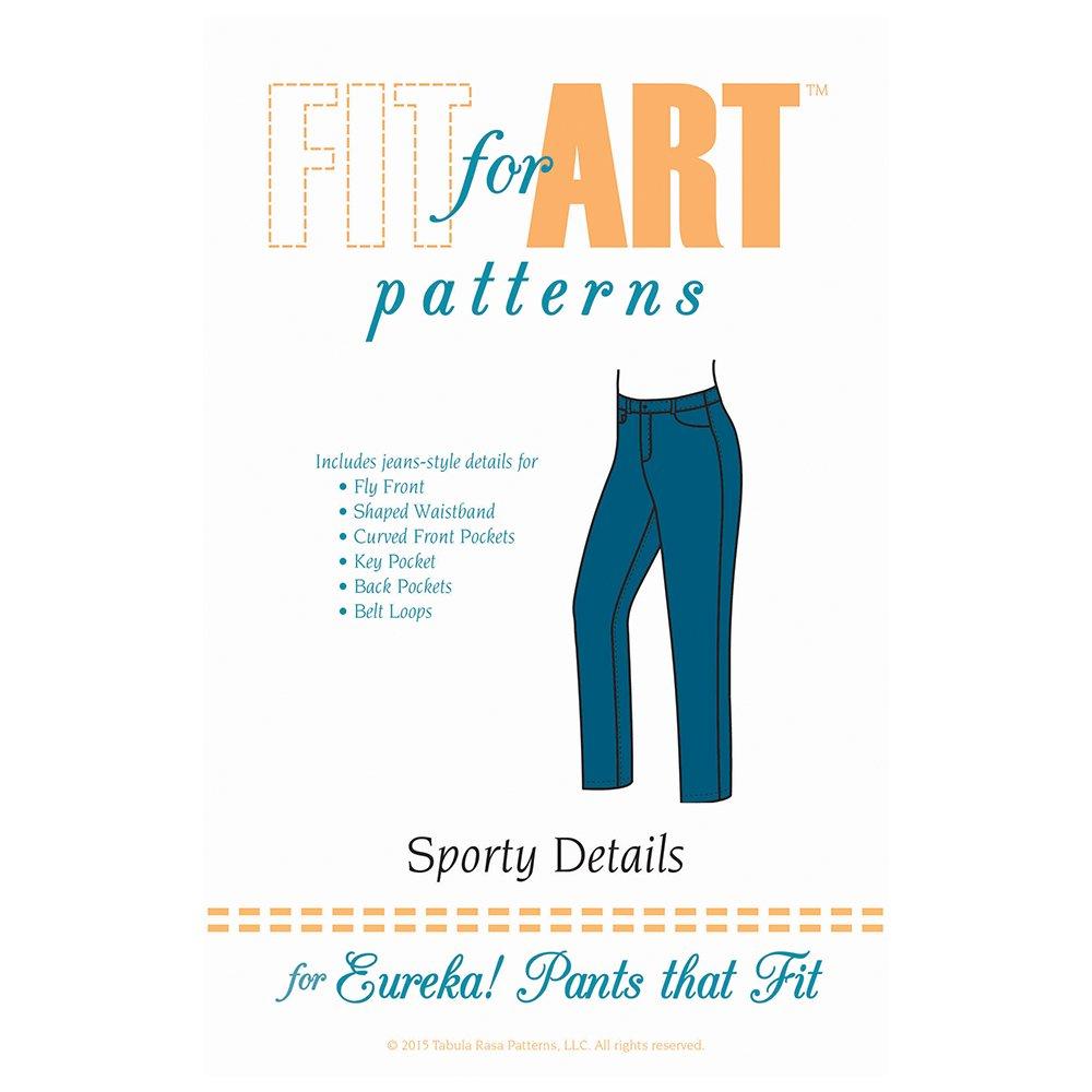 Fit For Art Sporty Details for Eureka Pants