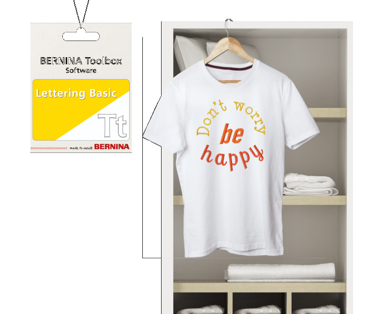 BERNINA Toolbox Lettering Basic software Available to Order