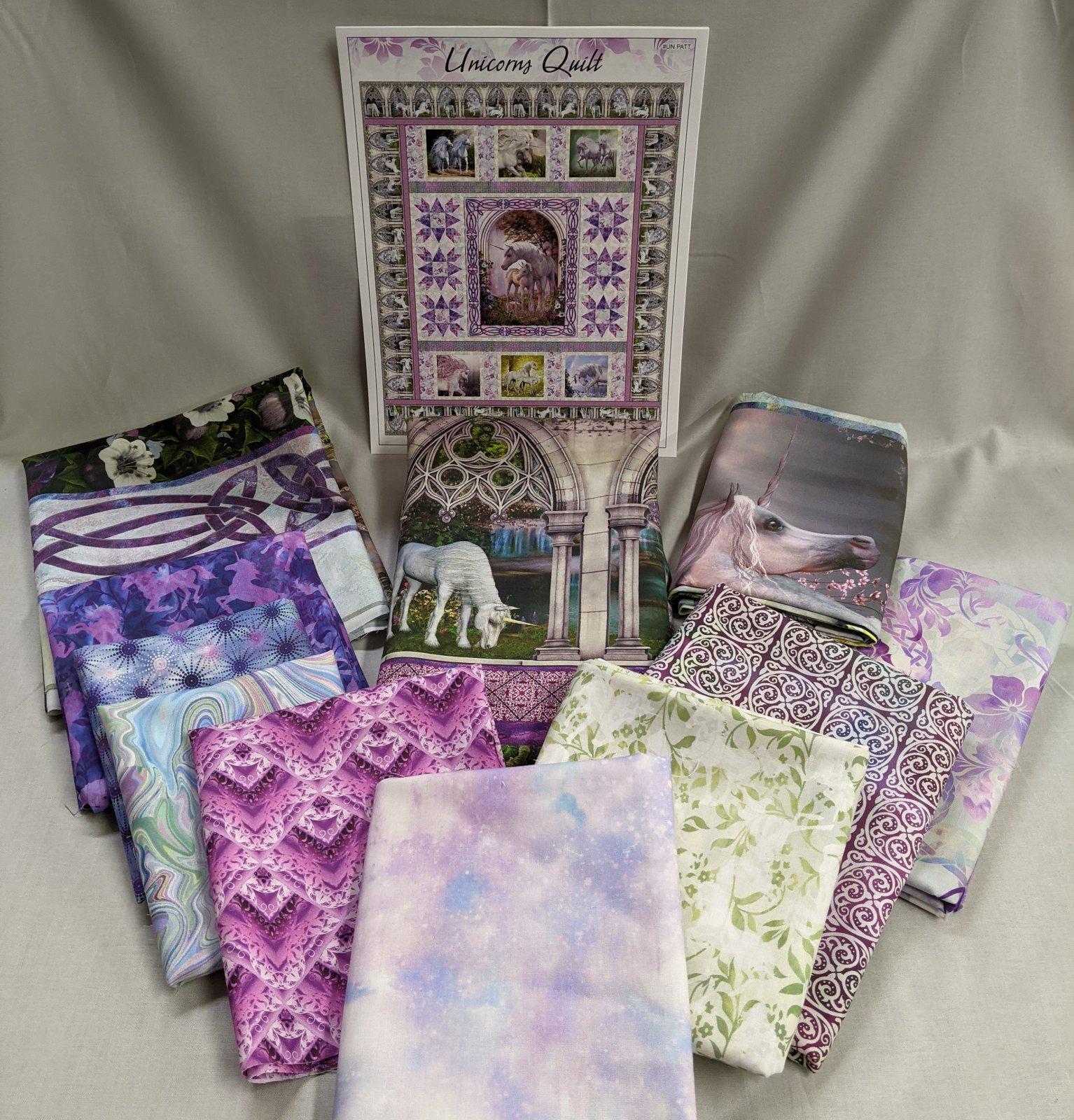 Unicorn Quilt Kit - ITB