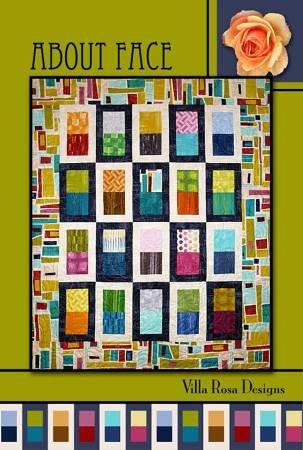 About Face Villa Rosa Designs Quilt Pattern