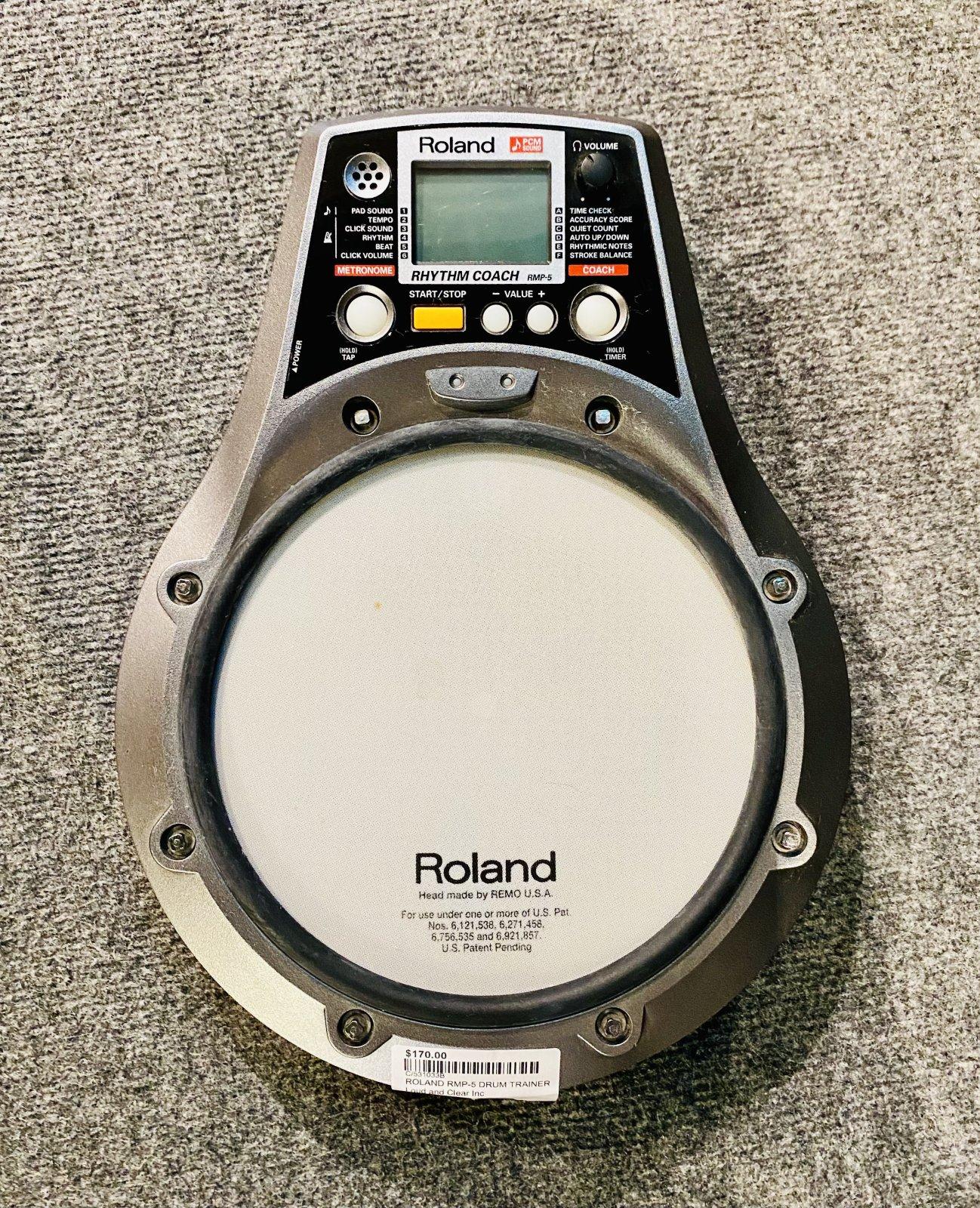 ROLAND RMP-5 DRUM TRAINER PAD MODULE