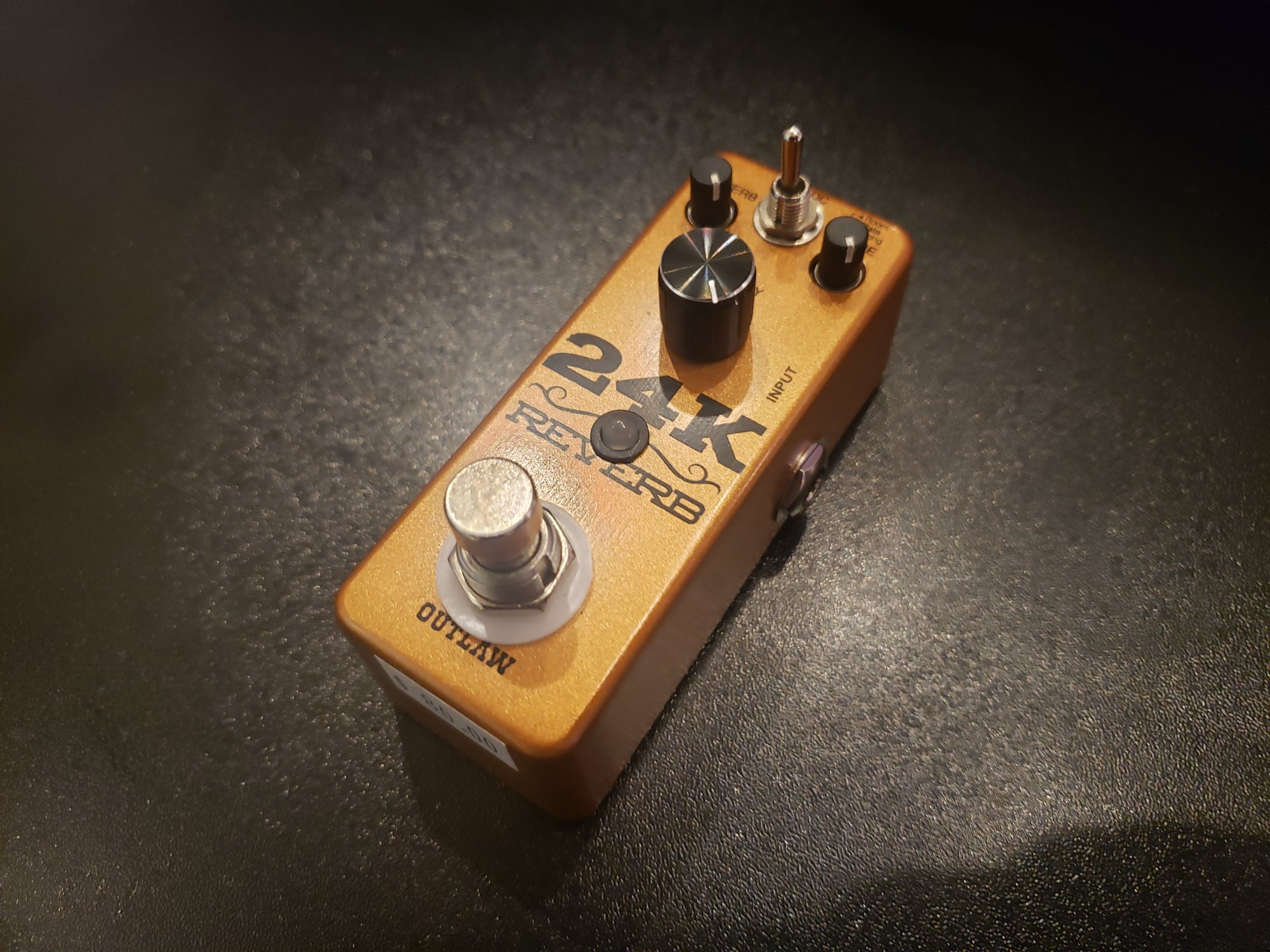 OUTLAW PEDALS 24K REVERB?PEDAL