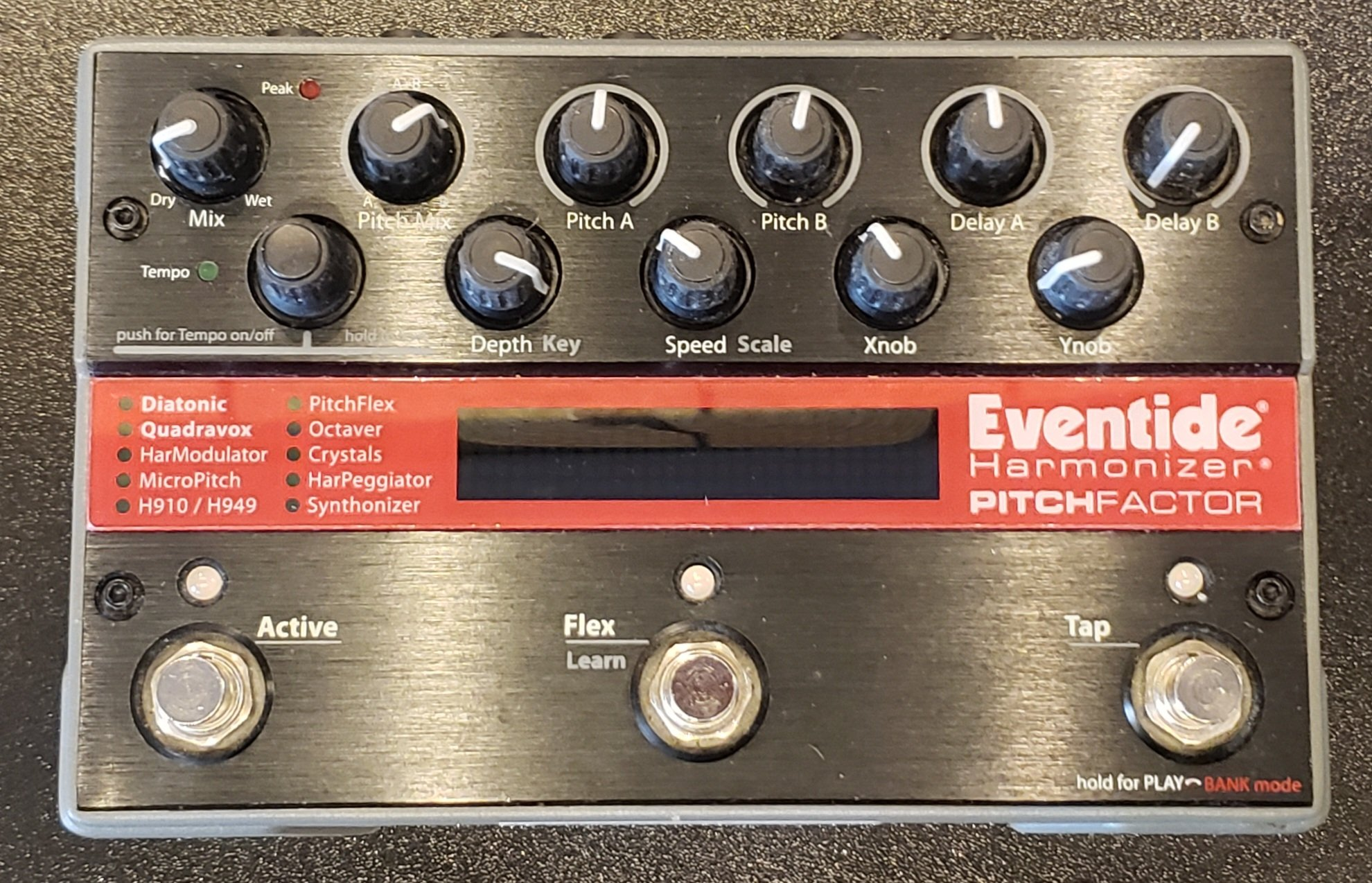 EVENTIDE PITCHFACTOR GUITAR PEDAL, W POWER SUPPLY