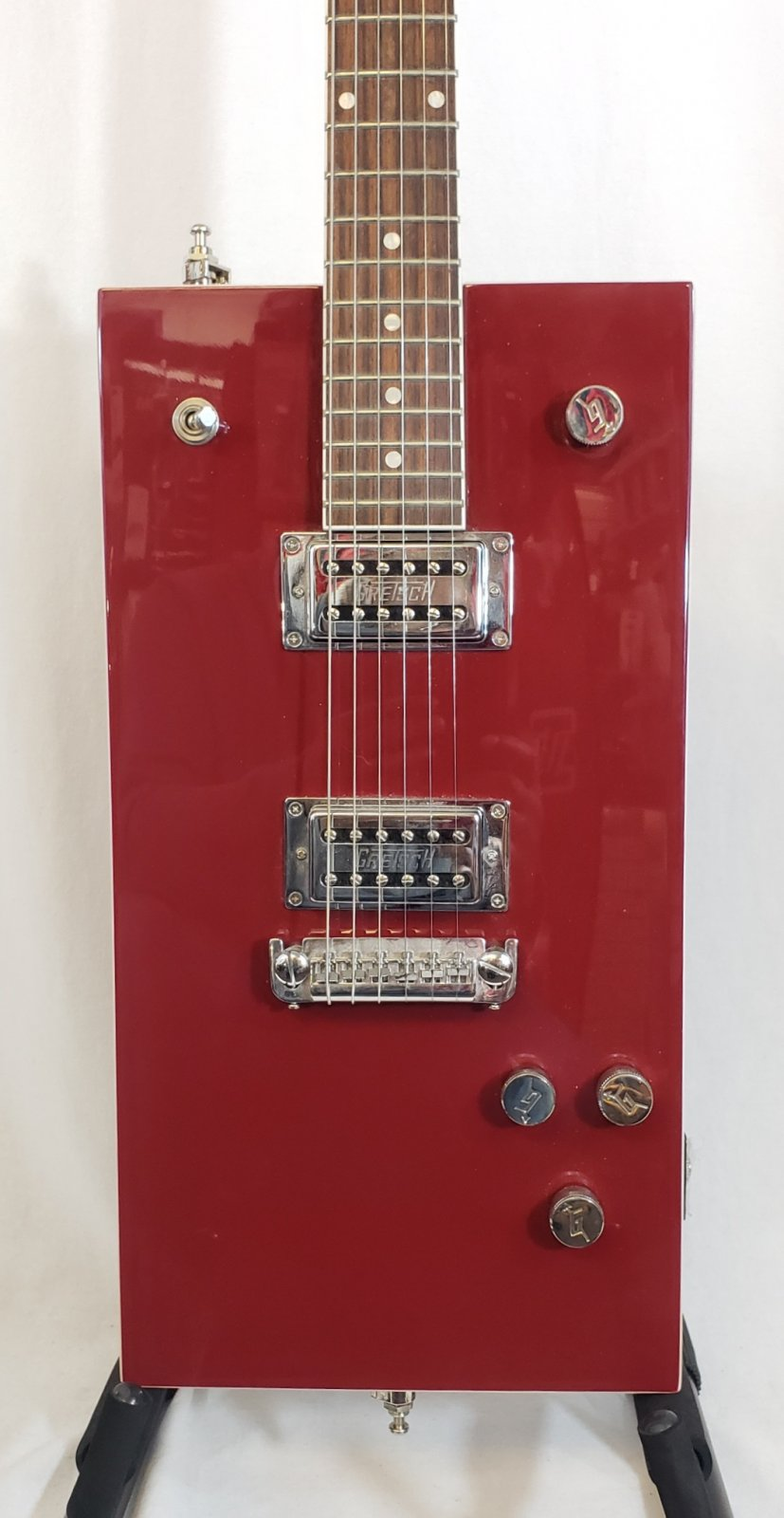 GRETSCH BO DIDDLEY ELECTRIC GUITAR RED