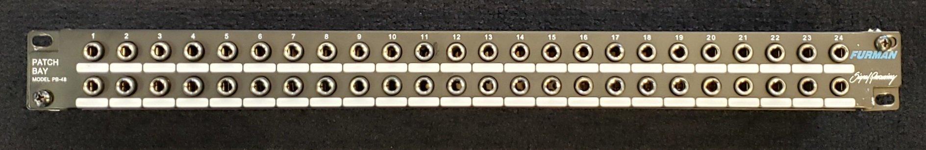 FURMAN PB-40 48-POINT PATCHBAY