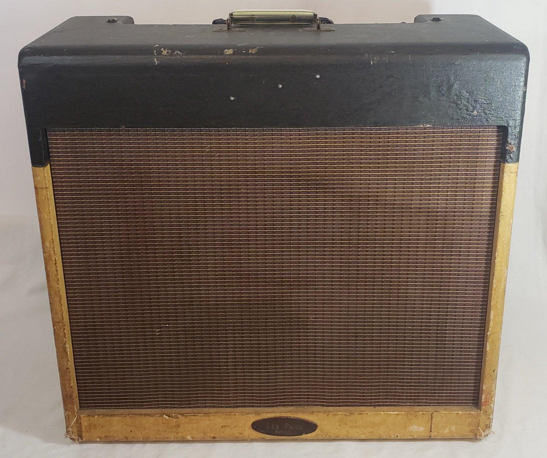 VINTAGE 1958 GIBSON GA-40 LES PAUL TUBE GUITAR AMP