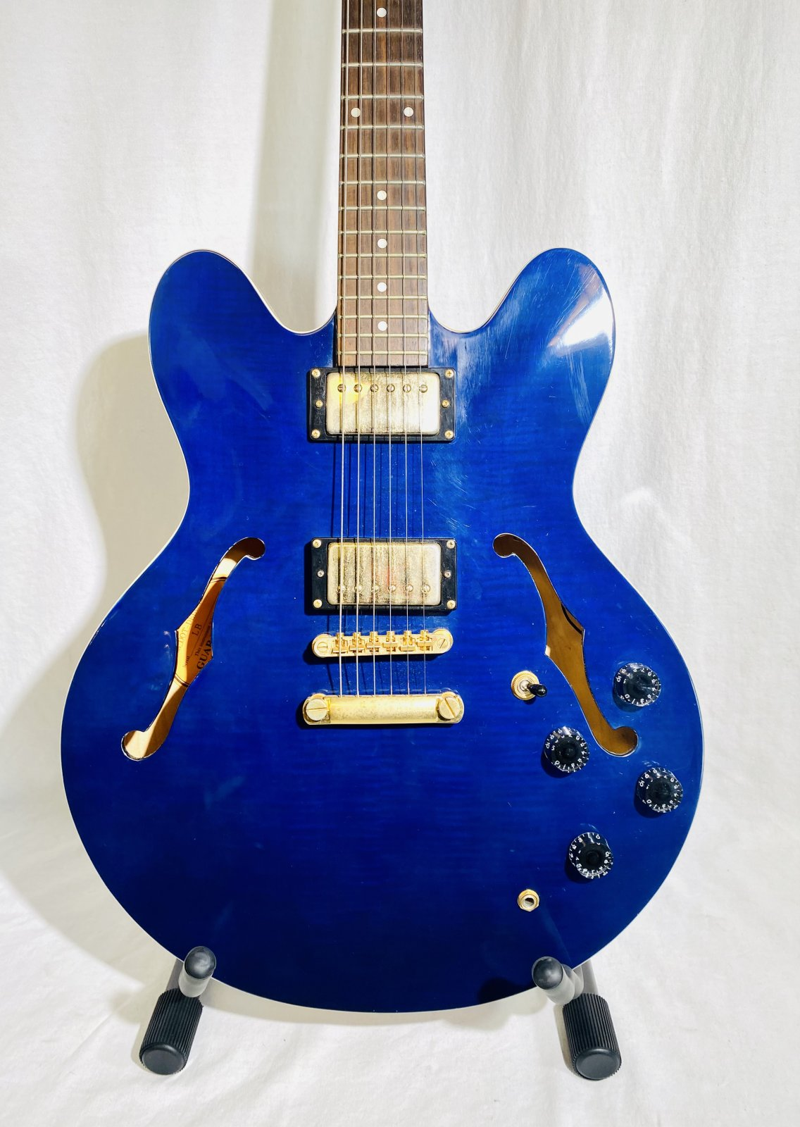 EPIPHONE DOT DELUXE ELECTRIC GUITAR WITH HARD CASE