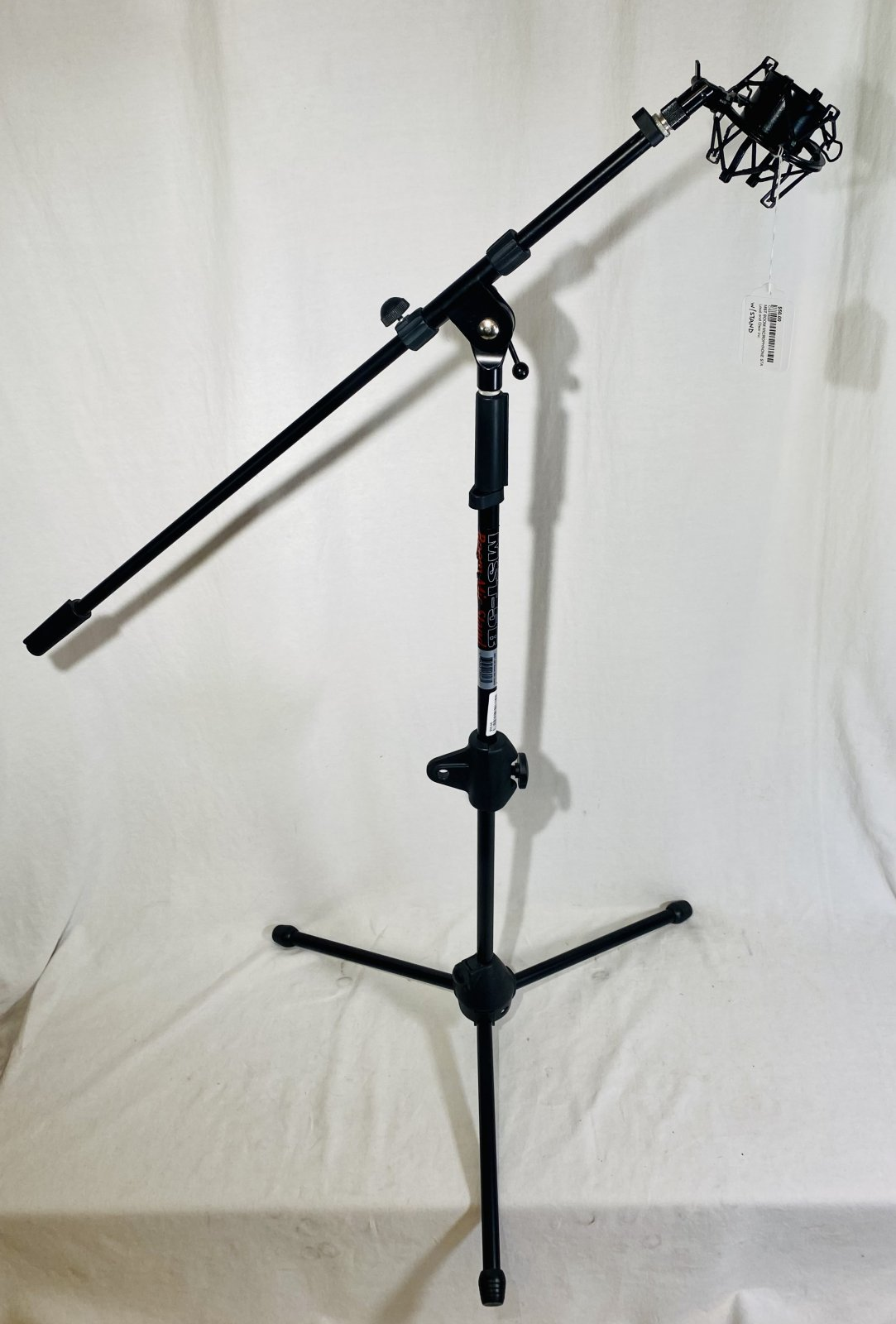 MST BOOM MICROPHNONE STAND W SHOCKMOUNT