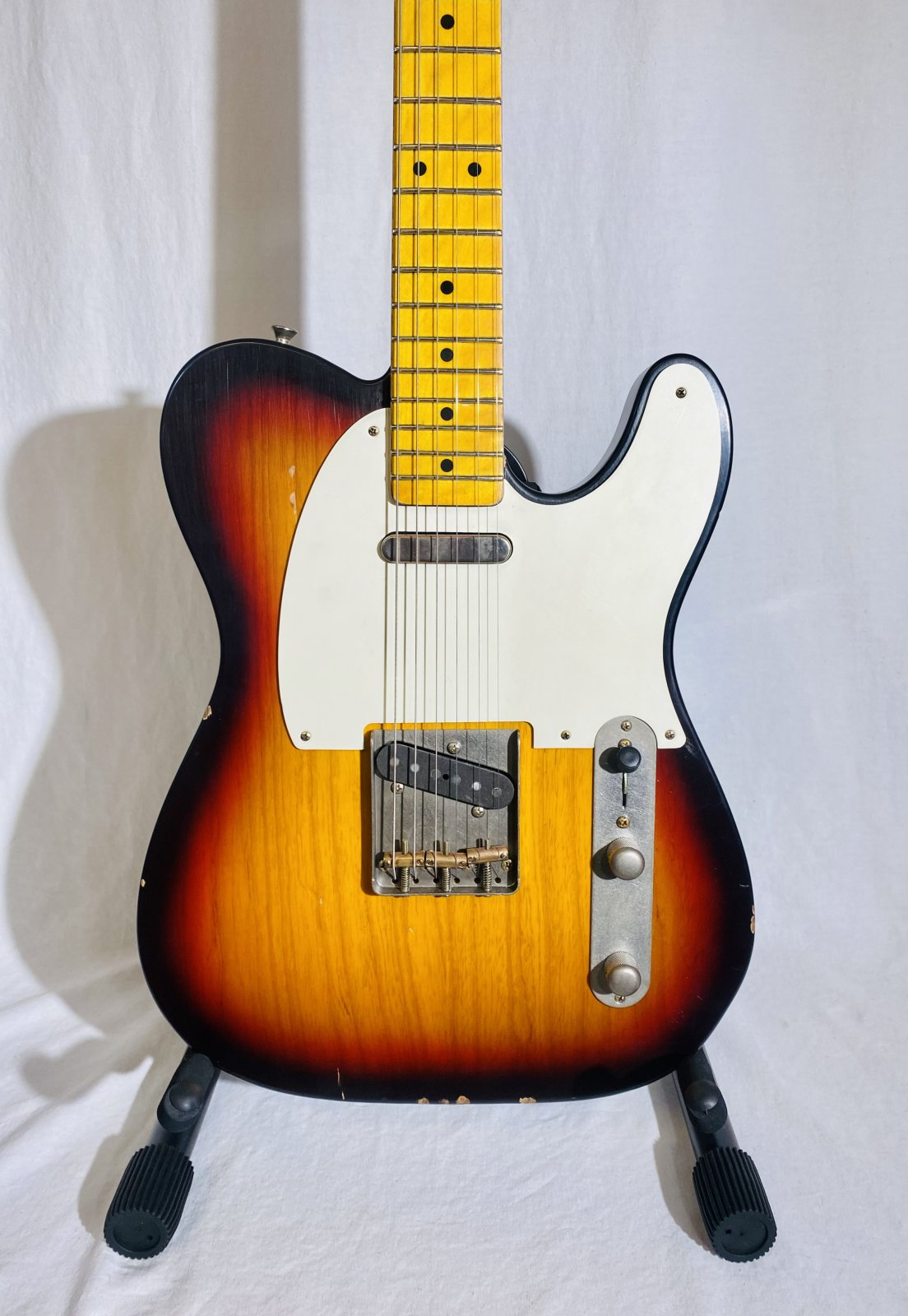 NASH T57 TELECASTER ELECTRIC GUITAR WITH HARD CASE