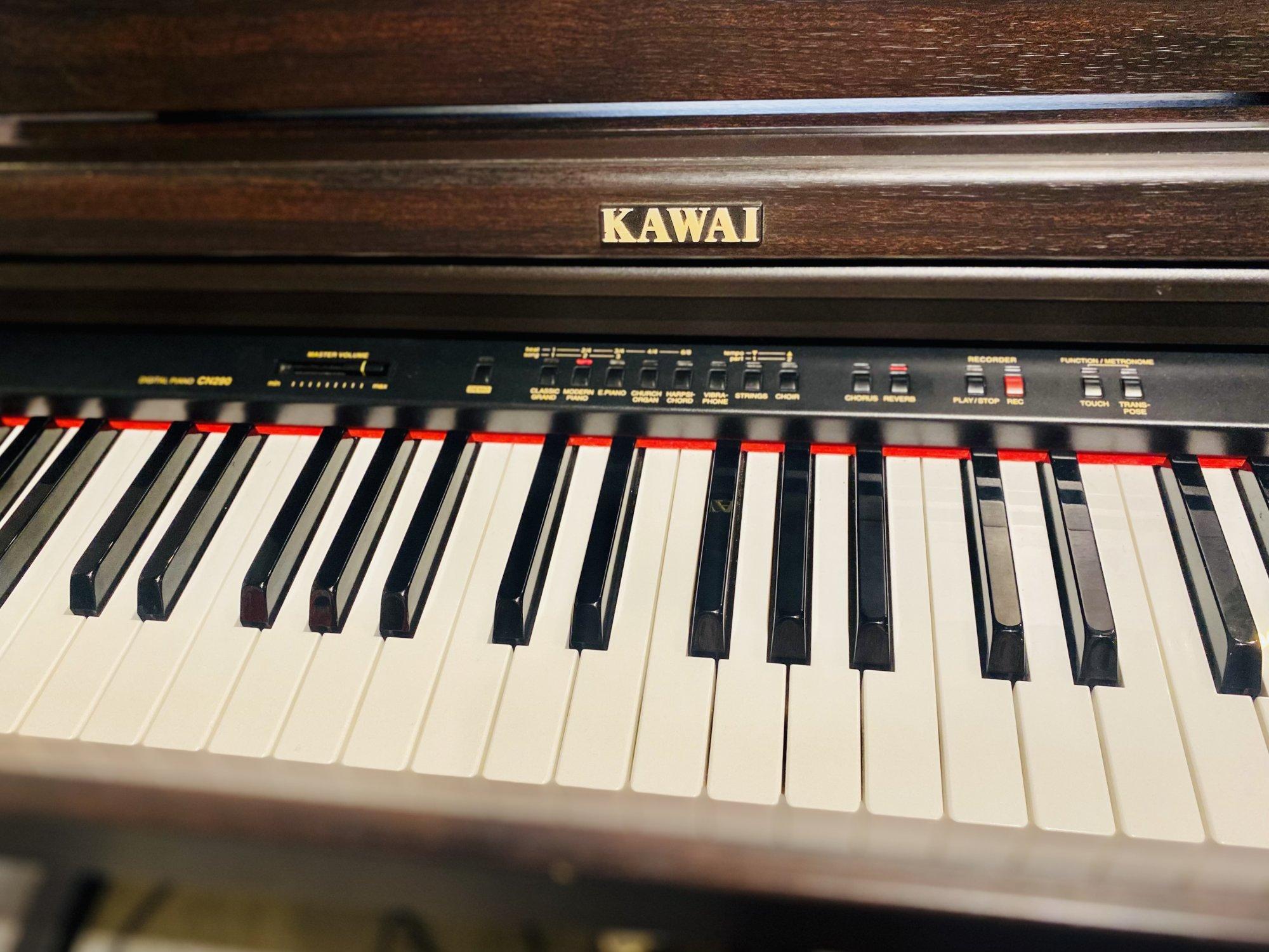 KAWAI CN-290 DIGITAL 88 KEY PIANO WITH STAND AND MANUAL