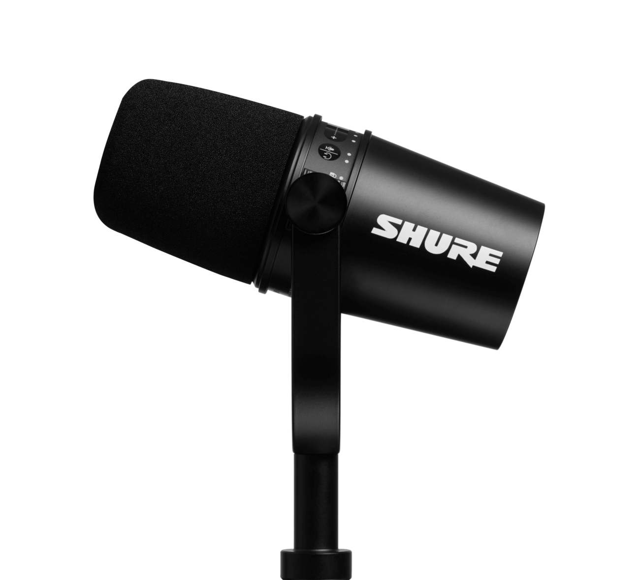SHURE MV7-K BROADCAST MICROPHONE BLACK