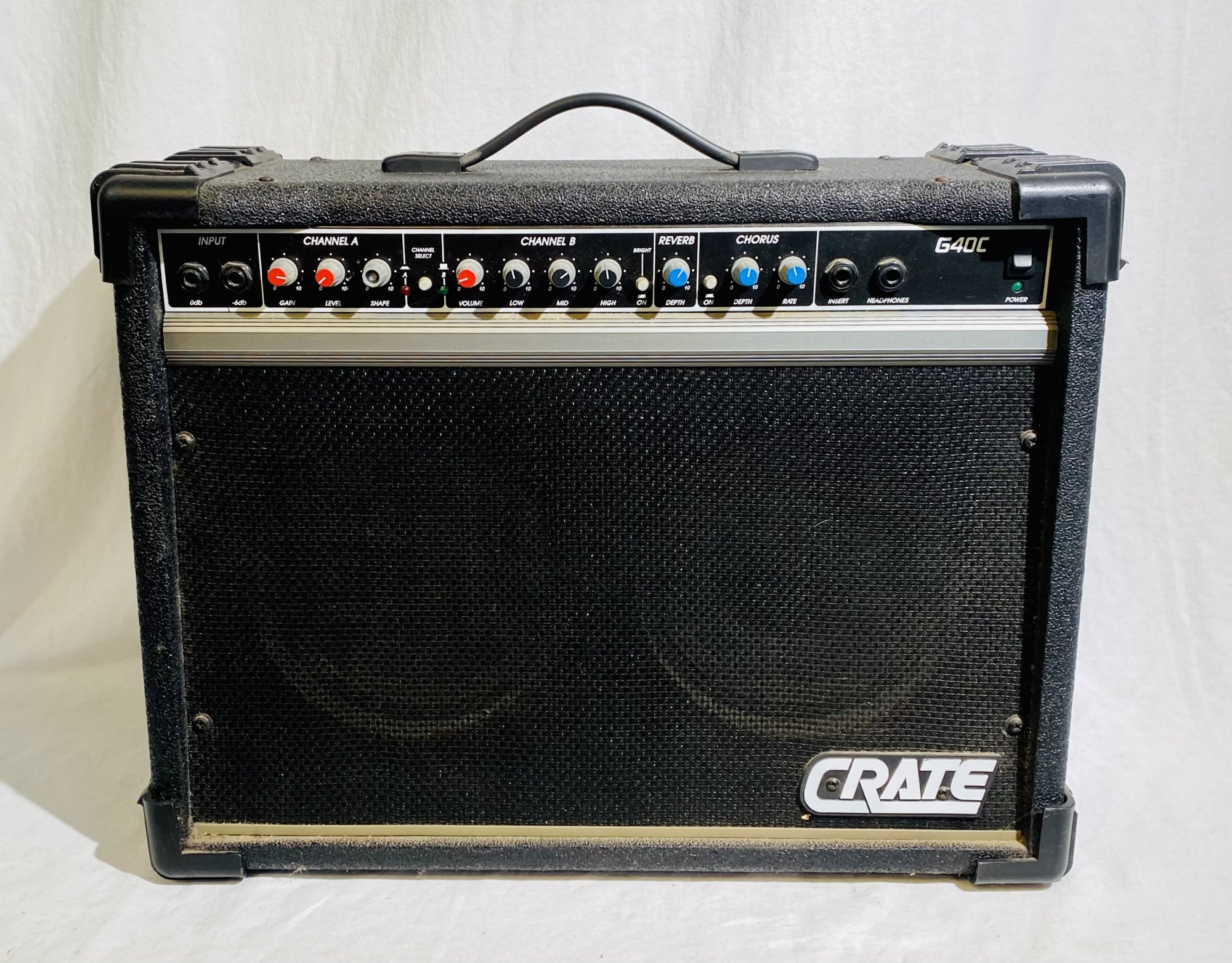 CRATE G40C STEREO CHORUS COMBO AMPLIFIER
