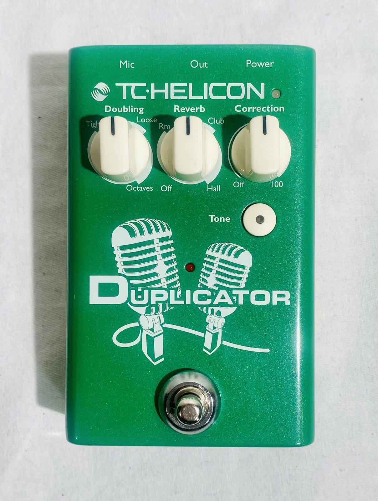 TC ELECTRIC DUPLICATOR VOCAL PEDAL W BOX