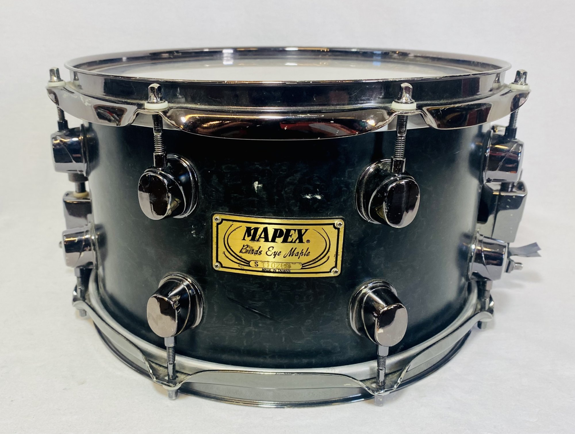 MAPEX BIRDS EYE MAPLE SNARE 12X6.5 SNARE COMES WITH BAG