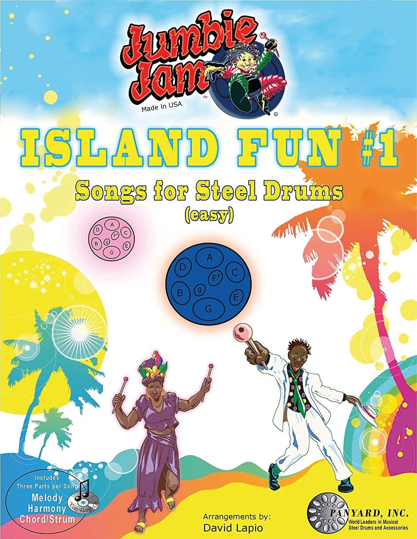 PANYARD JUMBIE JAM ISLAND FUN SONGS FOR STEEL DRUM (EASY)