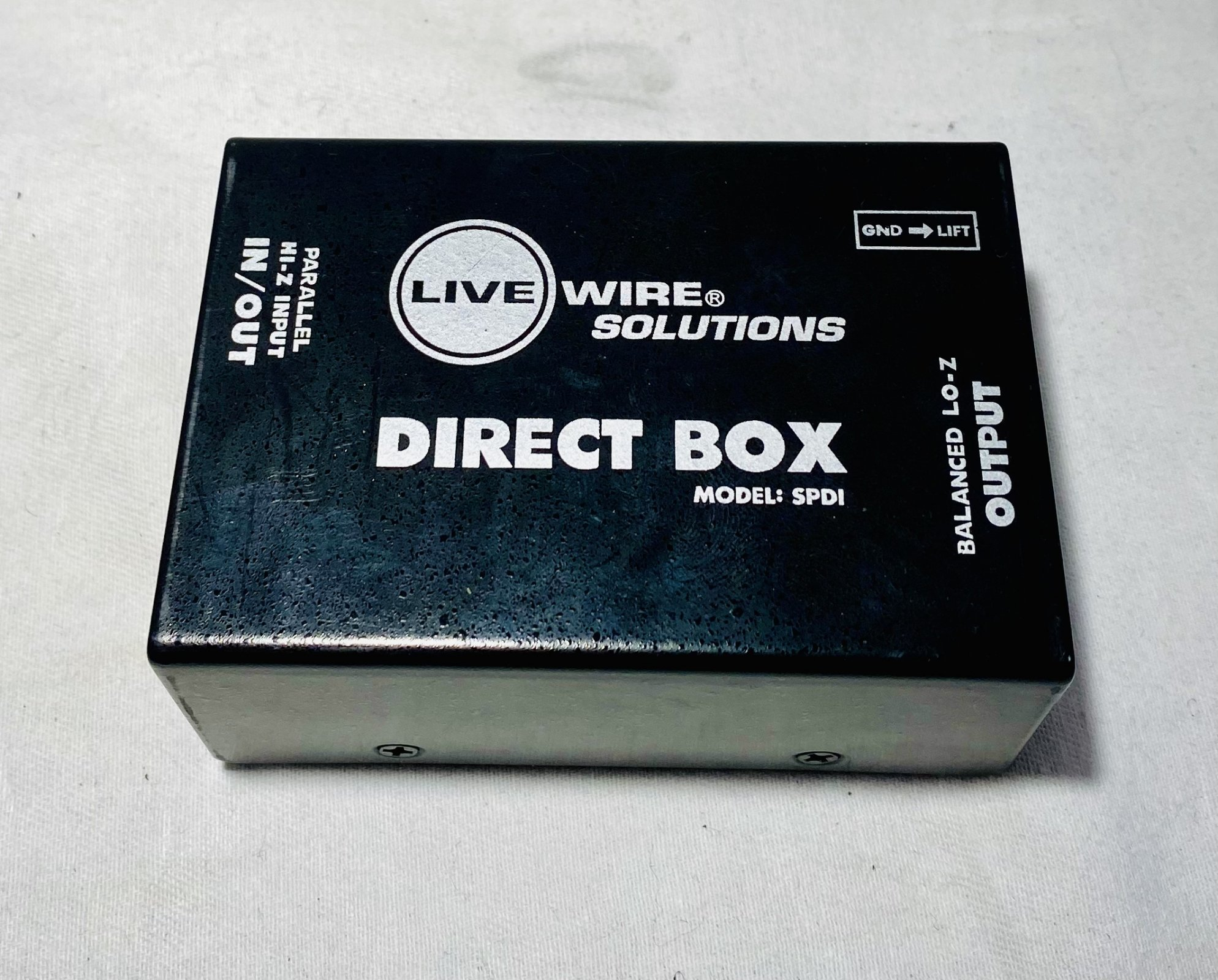USED LIVEWIRE DIRECT BOX