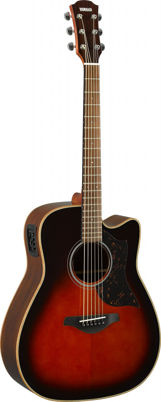 YAMAHA A1R TBS ACOUSTIC ELECTRIC GUITAR ROSEWOOD BACK/SIDES SPRUCE TOP TOBACCO BROWN SUNBURST