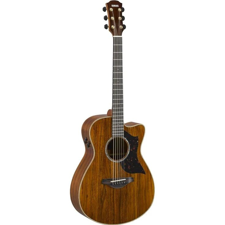 YAMAHA AC4KII A-SERIES ACOUS / ELECTRIC GUITAR; BAG; KOA