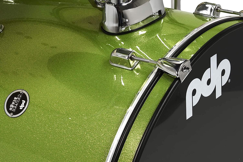 PDP GREEN SPARKLE DRUM HOOP, 20 SINGLE HOOP ONLY