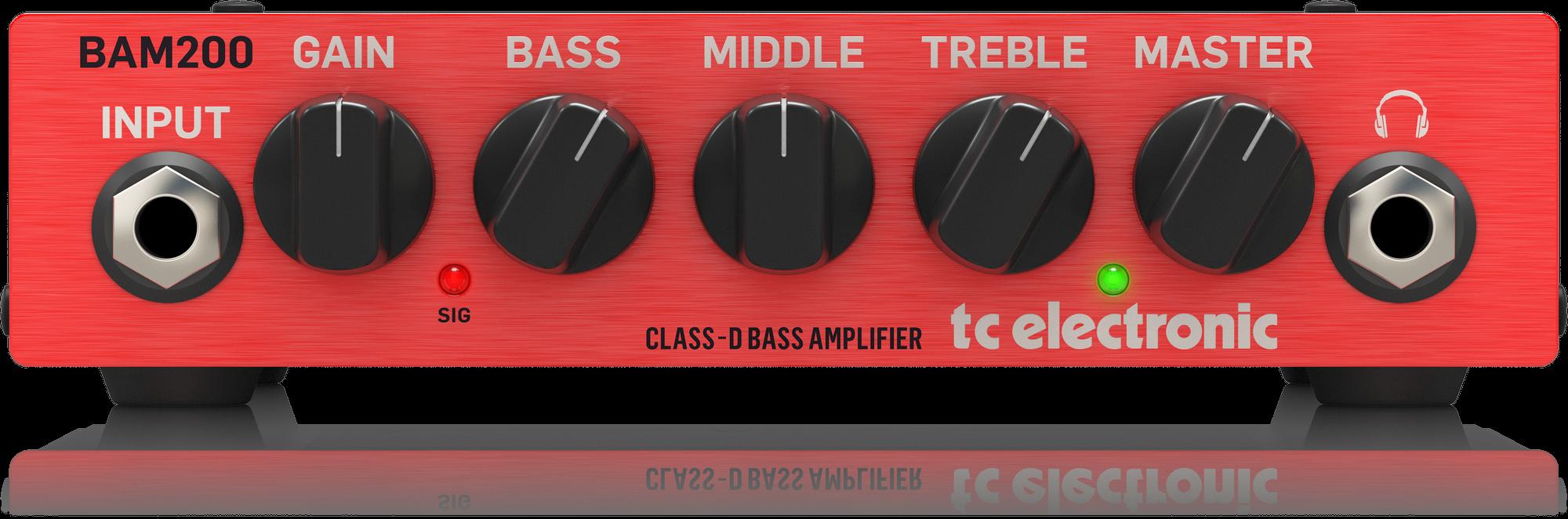 TC Electronic BAM 200 Ultra-Compact 200 Watt Bass He