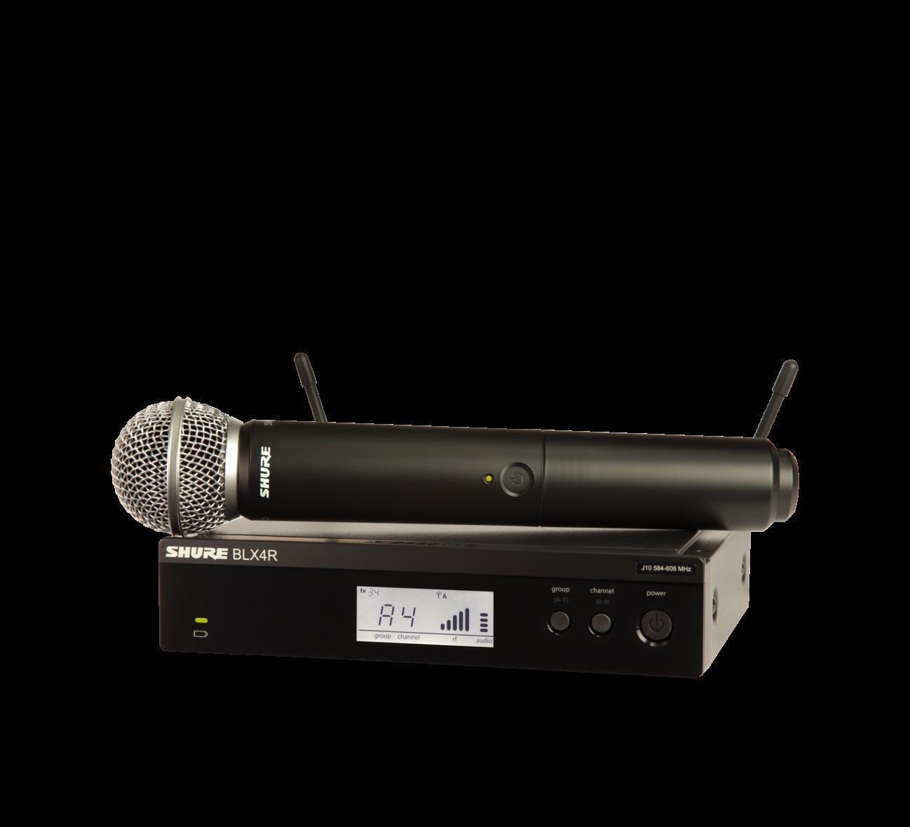 SHURE BLX24R/SM58 BLXR24R VOCAL SYSTEM