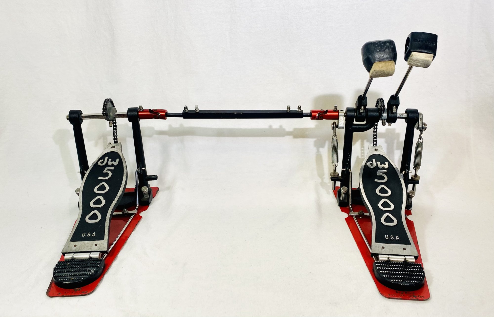 USED DW 5002 DOUBLE BASS DRUM PEDAL
