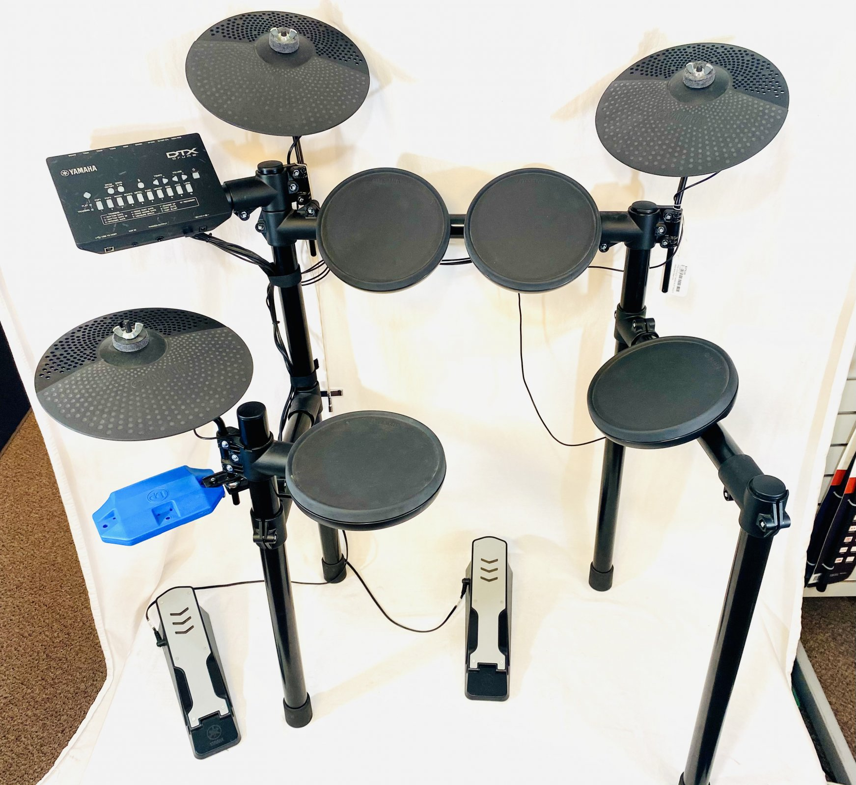 PRE-OWNED YAMAHA DTX402 ELECTRIC DRUM KIT