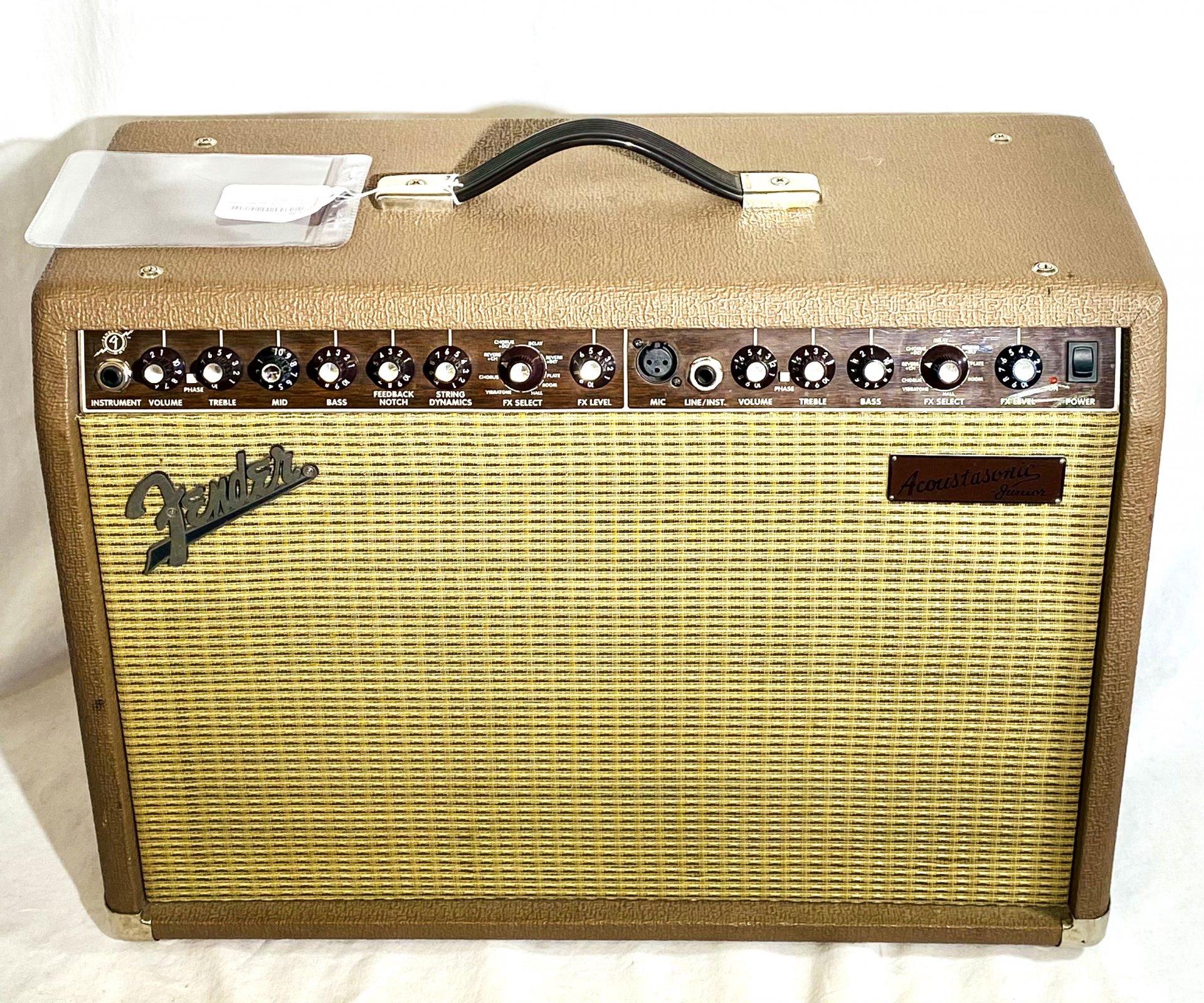 FENDER ACOUSTASONIC JUNIOR COMBO ACOUSTIC/ELECTRIC AMP