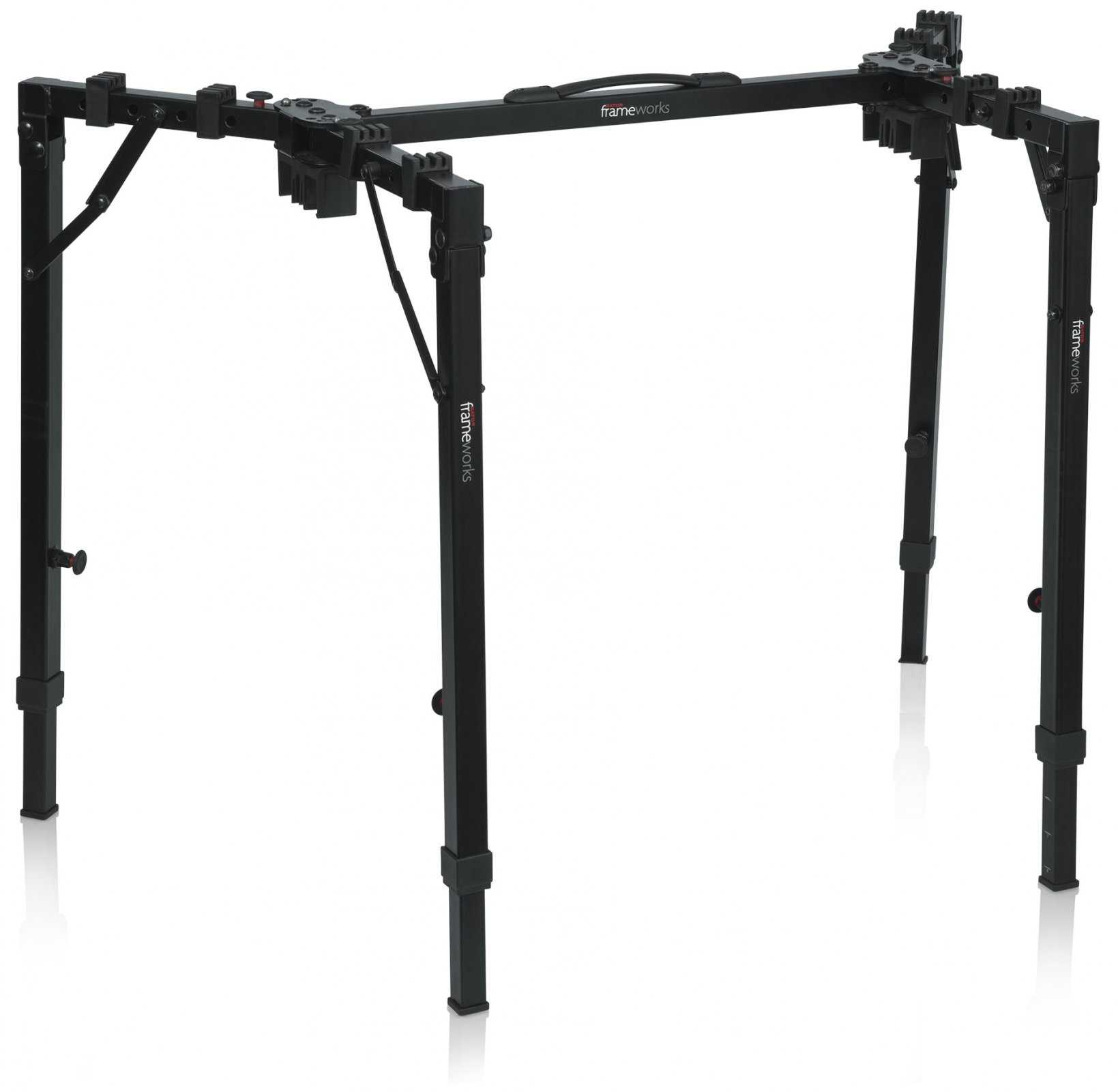 GATOR GFW-UTL-WS250 FRAMEWORKS ADJUSTABLE T-STAND FOLDING WORKSTATION WITH 250LB WEIGHT CAPACITY