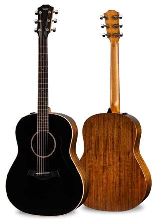 TAYLOR AD17e BLACKTOP AMERICAN DREAM GRAND PACIFIC ACOUSTIC/ELECTRIC GUITAR,  WITH CASE