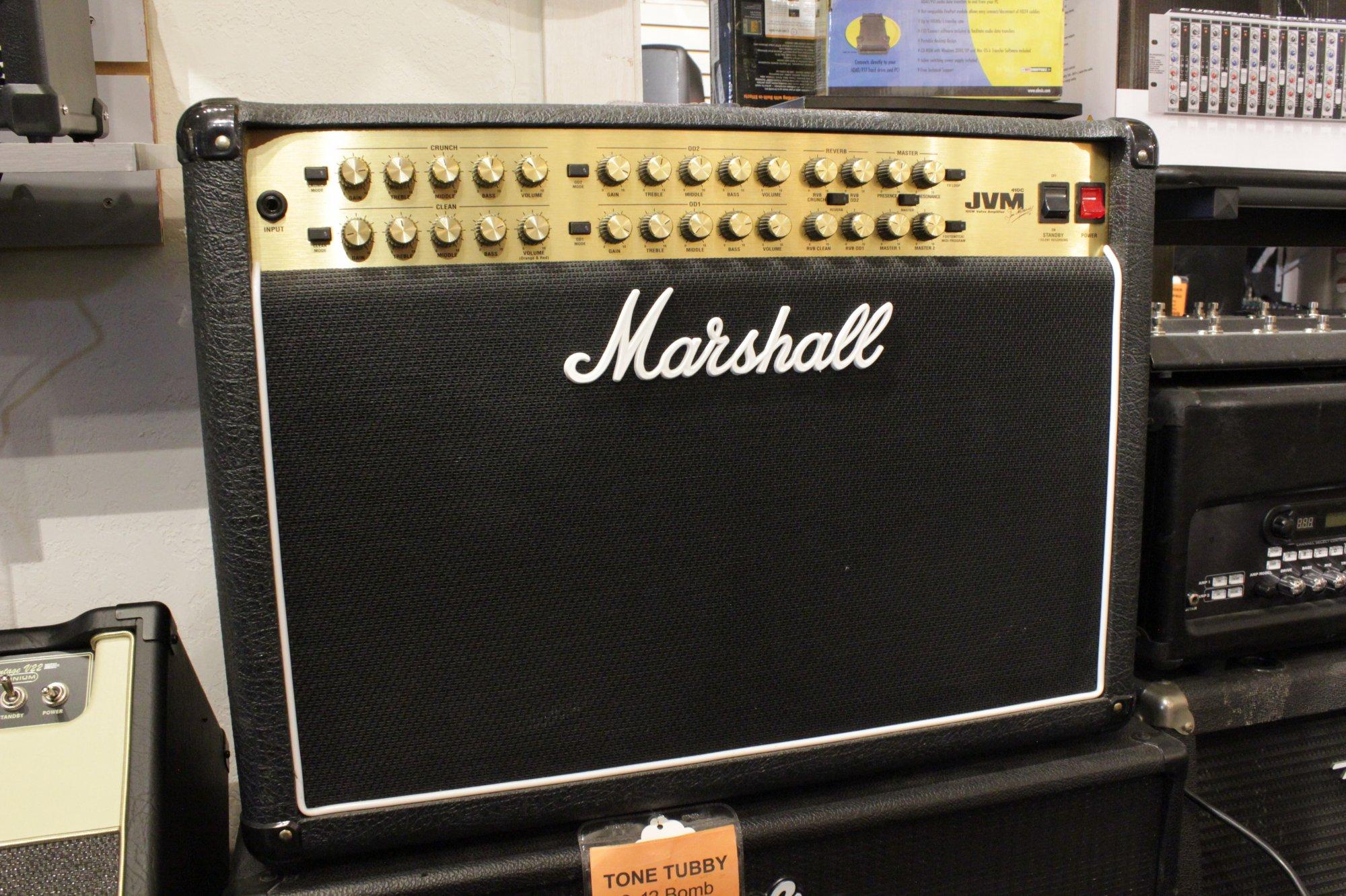 MARSHALL JVM410 2X12 TUBE AMP