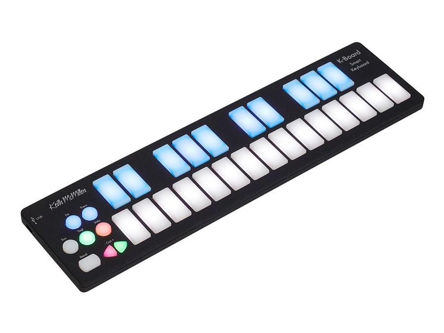 KEITH MCMILLEN K-BOARD SMART KEYBOARD MIDI CONTROLLER w/SmartFabric Technology