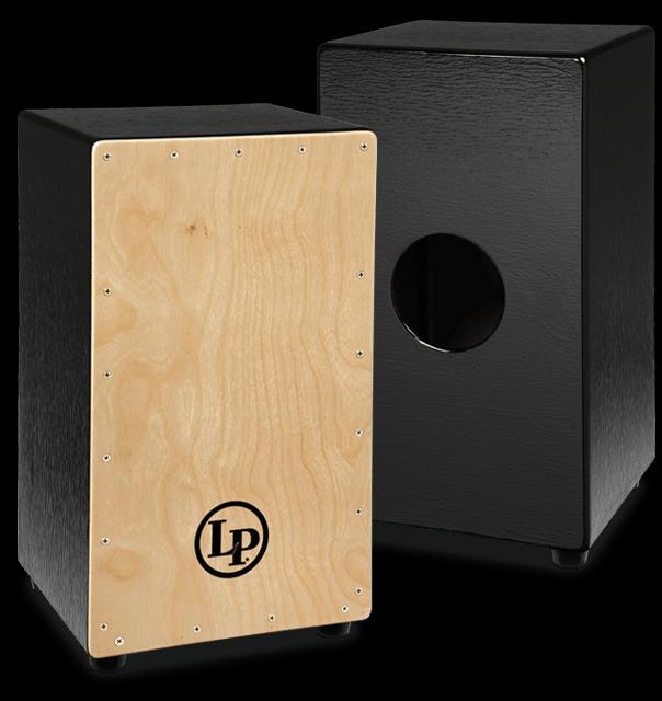 LATIN PERC LP1428NYN BLACK BOX CAJON, NATURAL FRONT