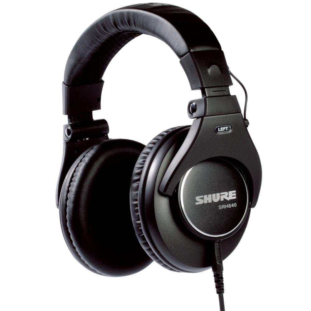SHURE SRH840-BK PREMIUM STUDIO HEADPHONE BLACK