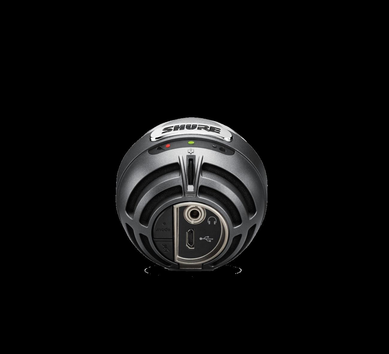 SHURE MV5-DIG CONDENSER MICROPHONE GREY USB & LIGHTNING CCAB