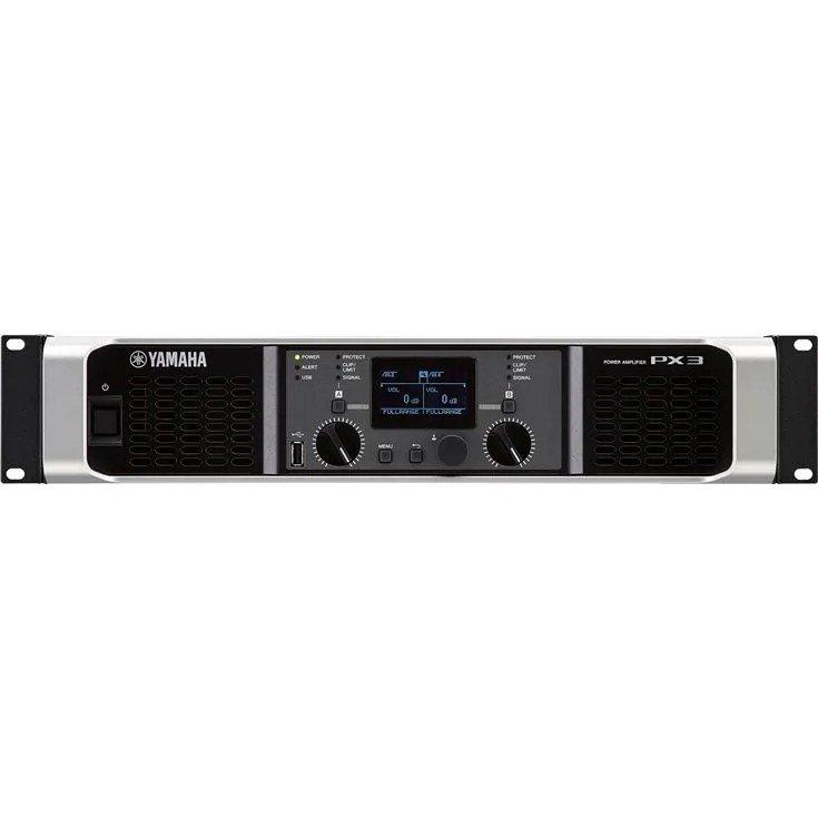 YAMAHA PX3 DUAL CHANNEL 500 WATT POWER AMP DSP
